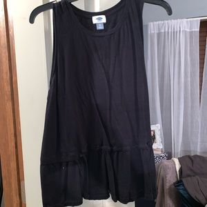 OLD NAVY BLACK TOP SIZE XL
